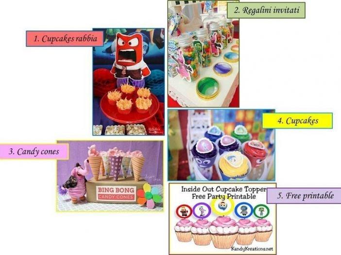 Idee dal web per feste di compleanno a tema Inside Out