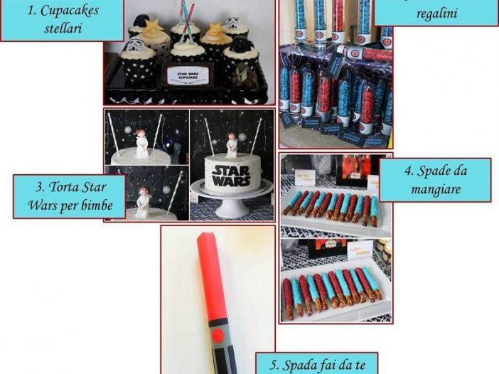 idee dal web per feste per bambini a tema Star Wars