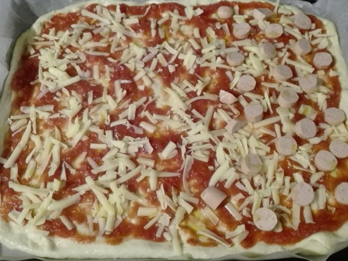 pizza veloce fatta in casa mia